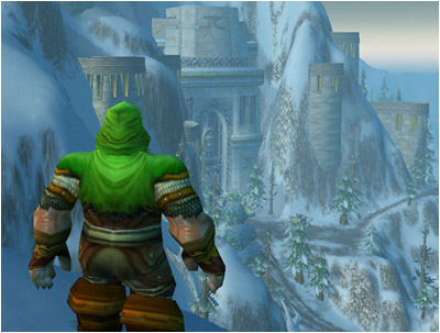 Mountaineer looking over Ironforge