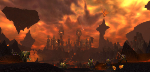 The Sanctuary under attack in the Molten Front