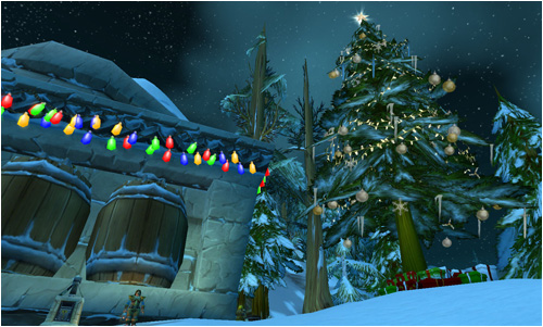The Feast of Winters Veil in Kharanos