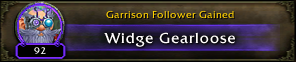 Follower gained: Widge Gearloose