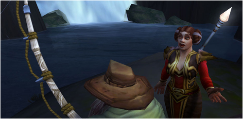 Ringo and Beli, fishing in Stormheim