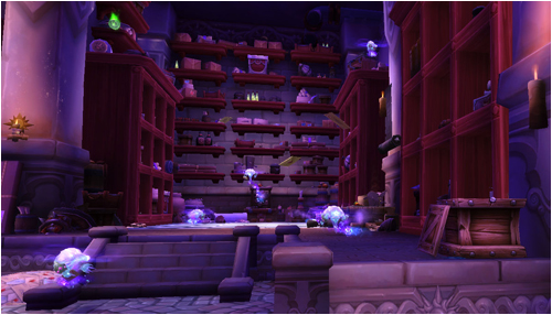 The mailroom beneath Dalaran
