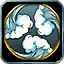 The Snowmaster 9000 item icon: blowing frigid winds